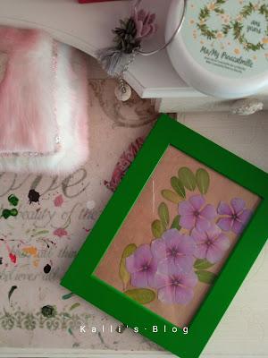 Καδράκι με αποξηραμένα λουλούδια, Kalli's blog