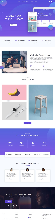 Creative Digital Agency Elementor Template Kit