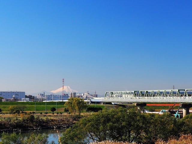 荒川 武蔵野線 富士山