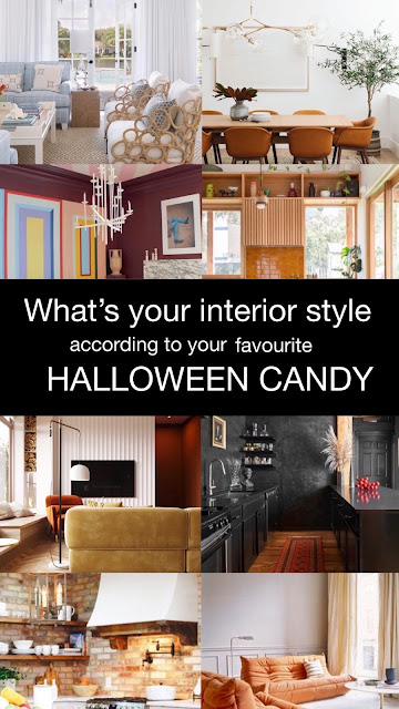 What's your Interior Style According to your Favourite Halloween Candy?