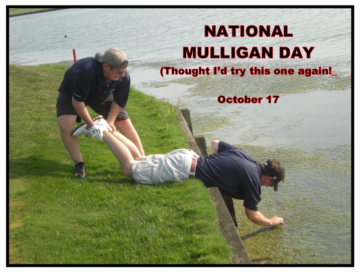 National Mulligan Day Wishes Awesome Images, Pictures, Photos, Wallpapers