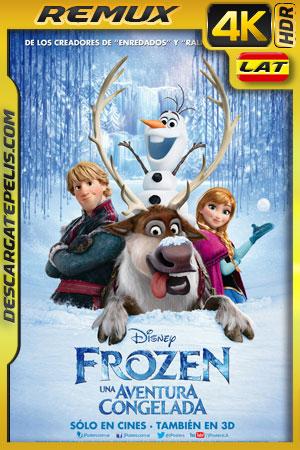 Frozen: Una aventura congelada (2013) 4k HDR BDRemux Latino – Ingles