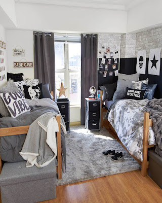 Dorm room fashionable