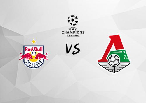 Salzburgo vs Lokomotiv Moscú  Resumen