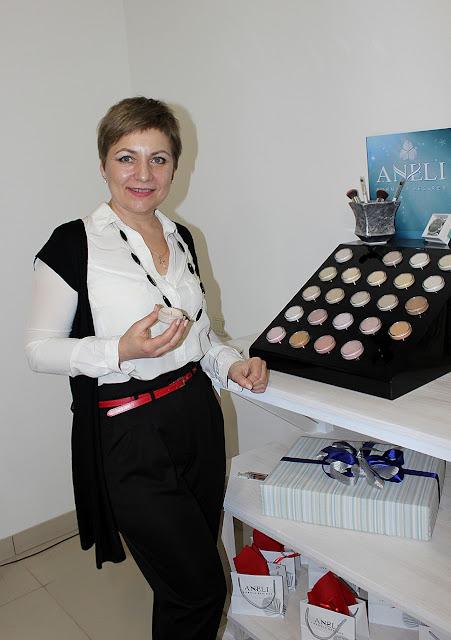 Марина Голосовская - создательница марки минеральной косметики ANELI