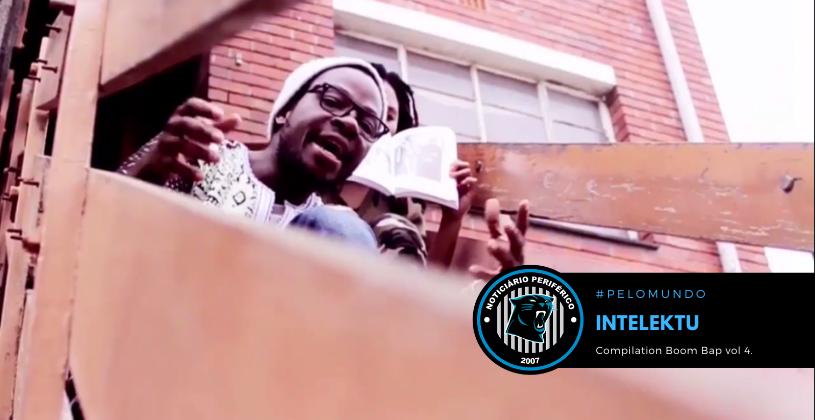 """O rapper angolano Intelektu lança a """"Compilation Boom Bap Vol.4"""""""