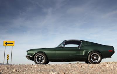 Bullit 1968 Mustang Fastback GT Specs