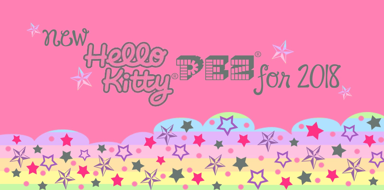 Pez Palz Friends of PEZ New Hello Kitty PEZ Line up for 2018 with