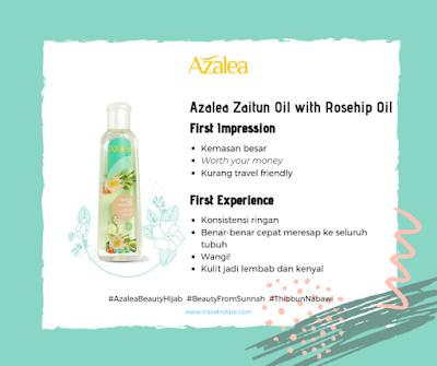 Azalea Zaitun Oil with Rosehip Oil