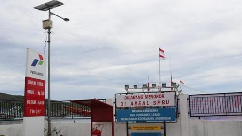SPBN Diresmikan, Nelayan Pesisir Selatan Bisa Isi Bahan Bakar di Pantai Carocok