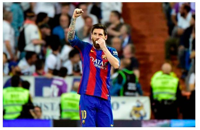 Messi Scores 500th Goal For Barcelona To Win El Clasico