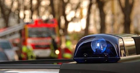 Árokba borult egy autó Debrecen és Bánk között