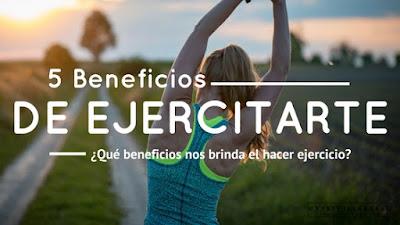 ¿qué beneficios nos brinda el hacer ejercicio?