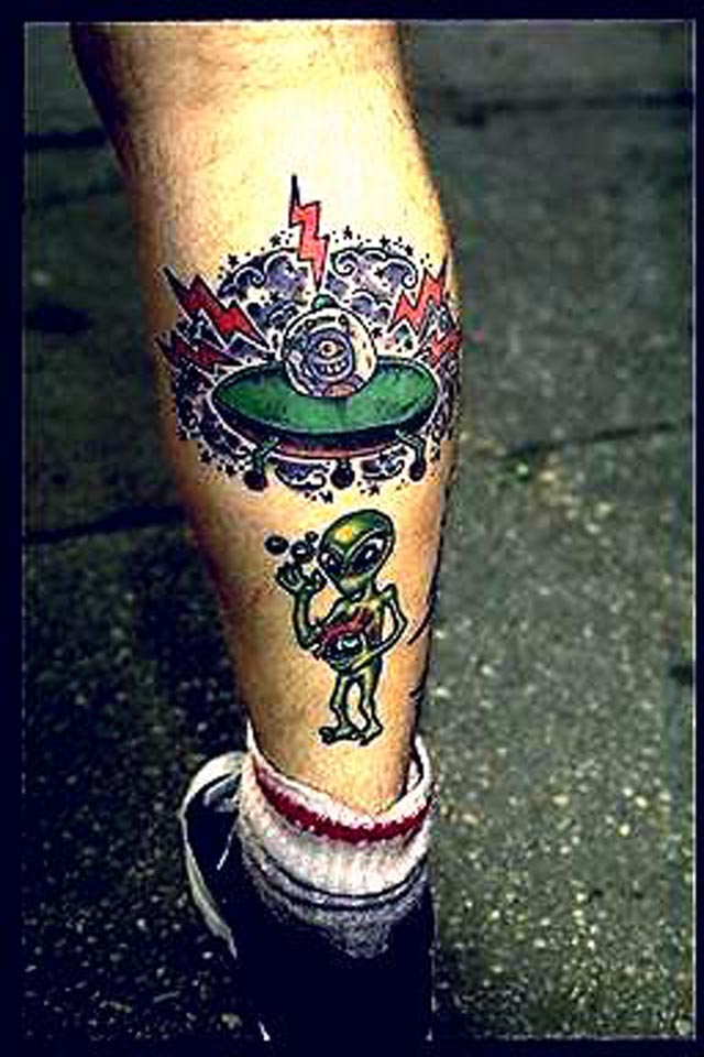 20 Alien Tattoo Collection | Design Colossal