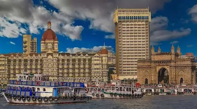 Mumbai Gateway of India, Taj Hotel Mumbai University