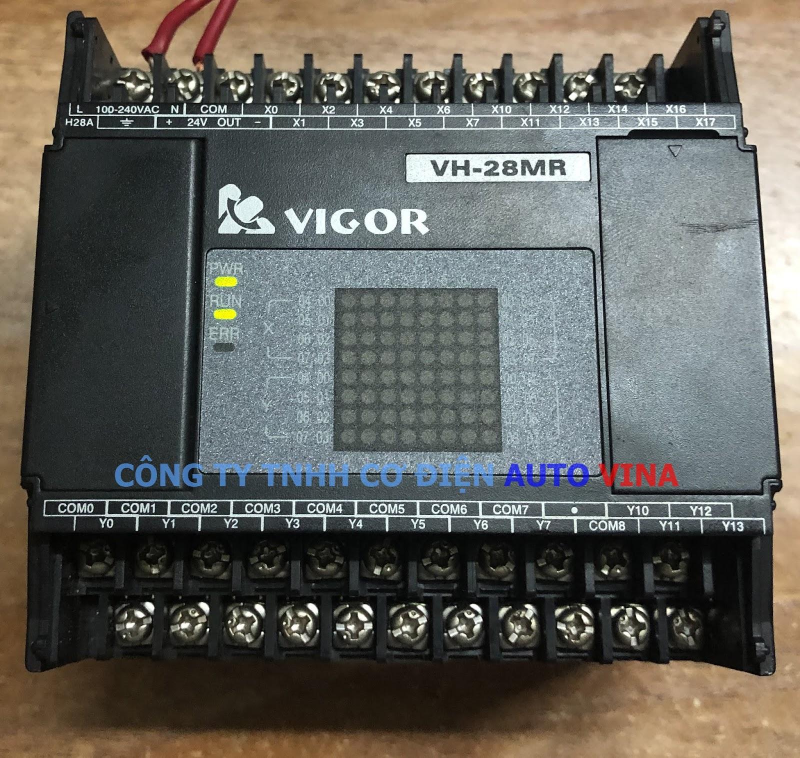Unlock password PLC Vigor VH-28MR, crack password PLC Vigor VH-28MR