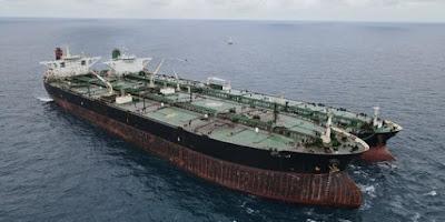 Bakamla menolak bolak-balik kapal tanker Yunani di perairan Alki iii Maluku