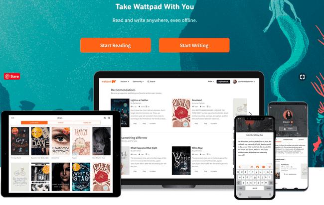 Wattpad tempat baca cerita buku online gratis