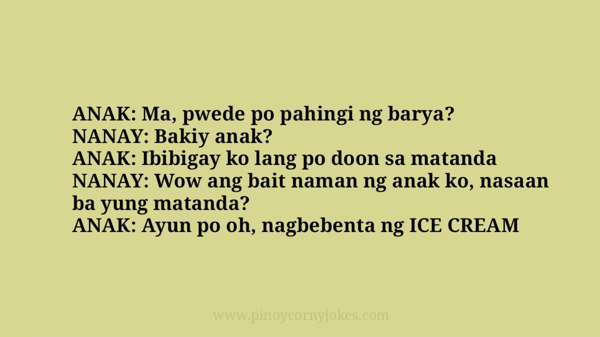 pahingi barya pinoy jokes 2021 family