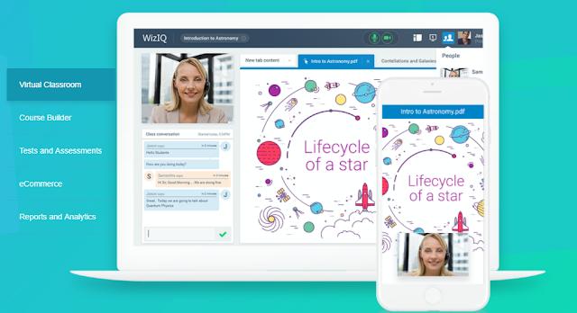 تطبيق Wiziq - تطبيق GoToMeeting - تطبيق Hangout - تطبيق Zoom - تقنيات مساندة للتعليم الإلكتروني نعرض لكم في هذا الموضوع منصات توفر صفوف افتراضية للاجتماع عن بعد - موقع دروس4يو Dros4U