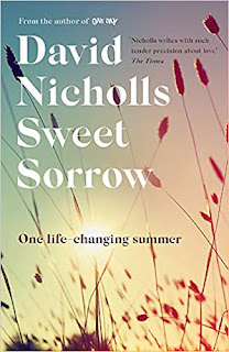 Sweet Sorrow book cover. Summer reading 2019