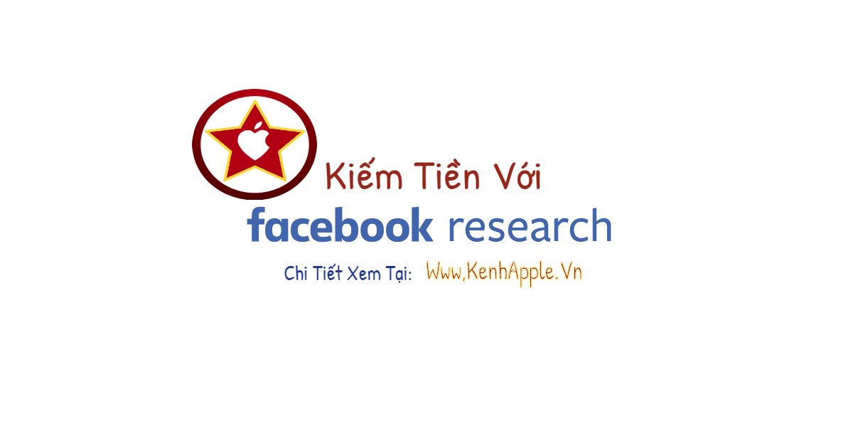 kiem tien voi facebook research