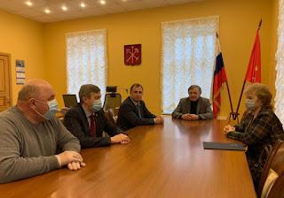 Депутат Сергей Вострецов рабочая поездка