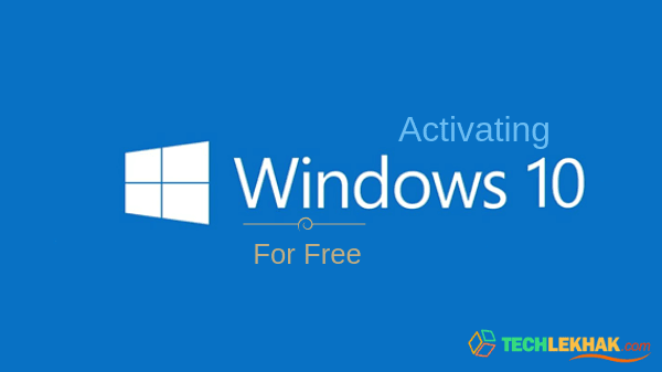 activating windows 10 for free