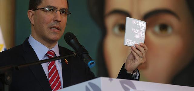 Arreaza acusa a Estados Unidos en la OIM por boicotear plan «vuelta a la patria»