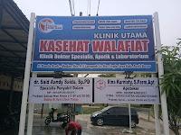 Lowongan Kerja Klinik Utama Kasehat Walafiat