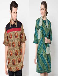 Model Baju Batik Couple Danar Hadi