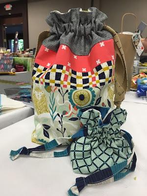 Drawstring Bag by Jeni Baker