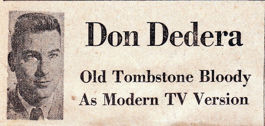 Tombstone Series ~ Old Tombstone Bloody as Modern TV Version ~ October 11, 1961