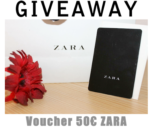GIVEAWAY | Voucher 50€ ZARA          |         My Fashion Insider