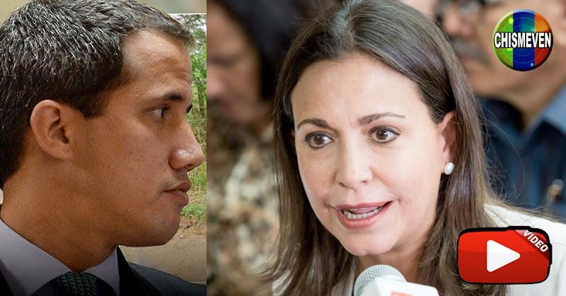 Maria Corina Machado desenmascara planes electorales de Juan Guaidó