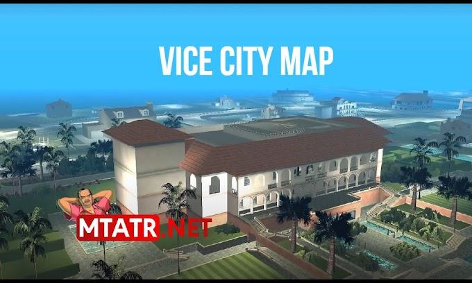 MTA SA Vice City Map