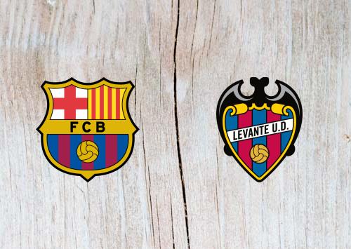 Barcelona vs Levante Full Match & Highlights 17 January 2019