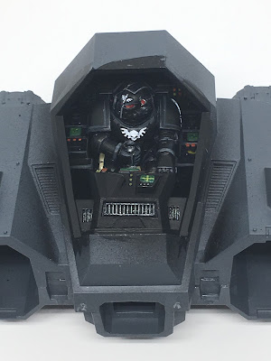 Nephilim Jetfighter Cockpit WIP Front View