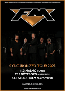 FM - March 2021 Seden tours dates - poster