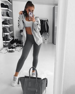 outfits deportivos foto en espejo
