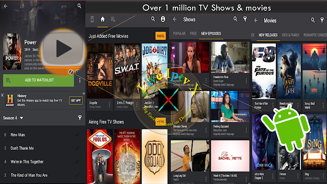 Yidio TV Show & Movie Guide APK