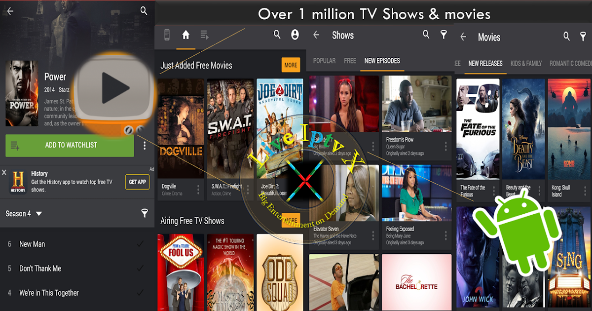 Best Streaming TV Online - Yidio TV Show & Movie Guide APK ...