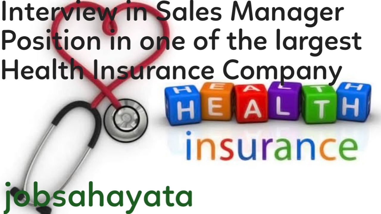 Health insurance company, jobsahayata