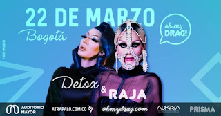 Detox Icunt & Raja Gemini en Bogotá