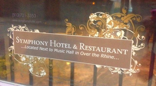 Chainsaw Symphony: Restaurant: Symphony Hotel & Restaurant, Cincinnati