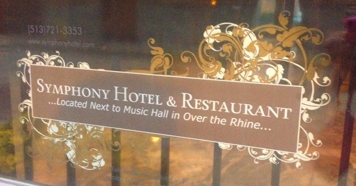 Restaurant Symphony Hotel Amp Restaurant Cincinnati The