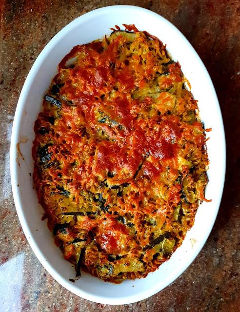 makaron z cukinią, makaron w sosie śmietanowym,kuchnia włsoka,najlepszy blog kulinarny,z kuchni do kuchni,