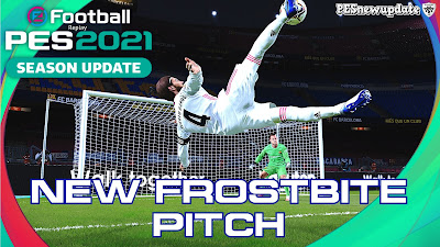 PES 2021 NEW Frostbite Pitch by Makidan14