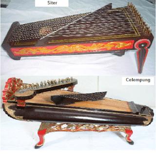 Siter Alat Musik Tradisional Karawitan Jawa