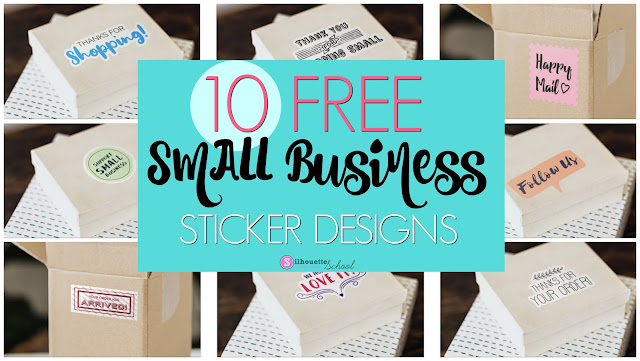 silhouette america blog, silhouette 101, print and cut, silhouette business, sticker paper